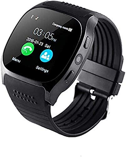 JOKIN T8 Smart Watch, Bluetooth Smartwatch Touch Screen Smart Phone Watch Android Smartwatch with Camera/SIM Card Slot Sports Mens Wrist Watch for Android Phone Support (3G/4G/5G) Sim Card
