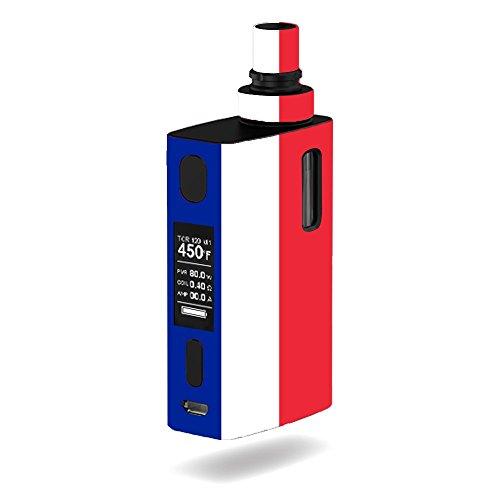 Joyetech eGrip 2 II Vape E-Cig Mod Box Vinyl DECAL STICKER Skin Wrap / Flag Of France Design