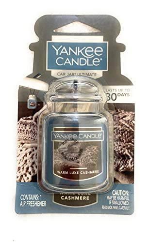 YANKEE CANDLE Warm Luxe Cashmere Car Jar Ultimate