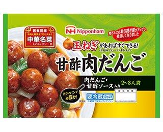 日本ハム 中華名菜 甘酢肉だんご270g 6パック
