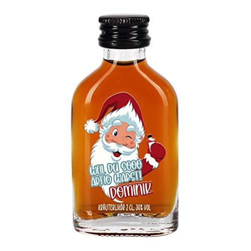Herz & Heim® Winterliche Liköre (1 x 0.02l) Weihnachtsmann, Kräuterlikör