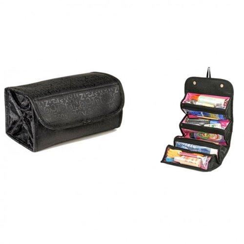 Organizzatore cosmetici porta trucchi cosmetic bag pochette borsetta organizer. Beauty arrotolato. MWS