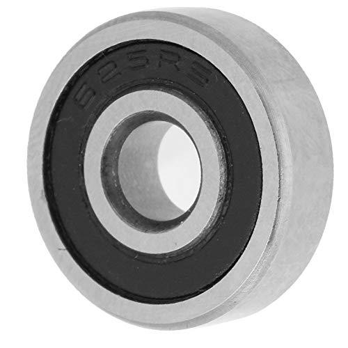 Groefkogellagers, pak van 10 dubbelzijdig met rubber afgedichte groefkogellagers, miniatuurkogellagers (625-2RS 5 × 16 × 5 mm)