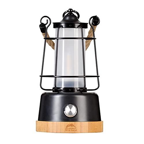 Aibabely Luz de campo, lámpara de camping multifuncional ajustable luz colgante portátil linterna de camping recargable