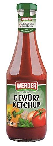 WERDER Gewürz Ketchup 750 ml