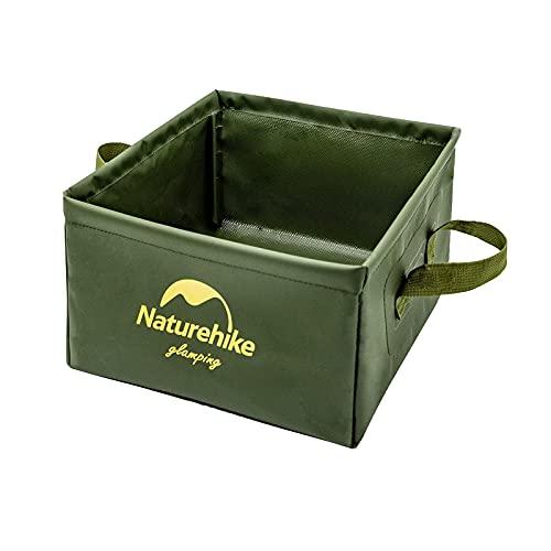 Naturehike 布バケツ 屋外用パックシンク 折りたたみ式四角バケツ アウトドア用携帯軽量化 折り畳み式 洗面器 水の入れ物 小物入れ 洗いおけ