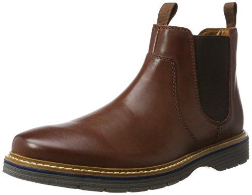 Clarks Clarks Herren Newkirk Hill Chelsea Boots, Braun (Mahogany Leather), 41.5 EU