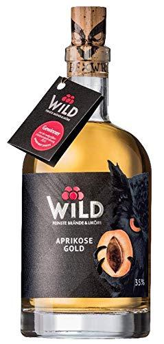 Wild Aprikose Gold 0,5 Liter Marillenbrand aus dem Schwarzwald