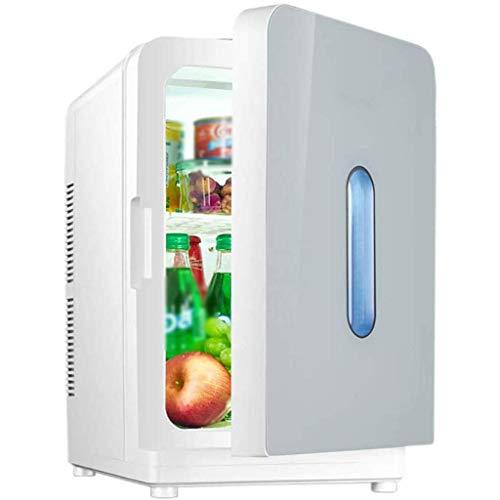 FEOPW Refrigerador portátil, 20L Refrigerador, Congelador Nevera Mini 12V 220V Nevera a Gas para Camping (Color : A)
