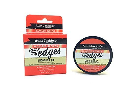 Aunt Jackie's Flaxseed Tame My Edge Smoothing Gel 2.5 oz. by Aunt Jackie's