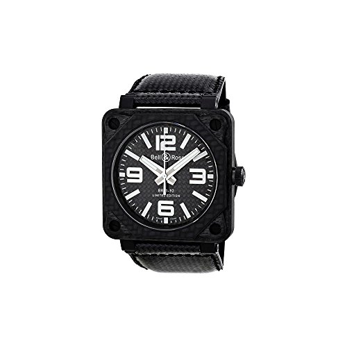 Bell and Ross Aviation Carbon Fiber Black...