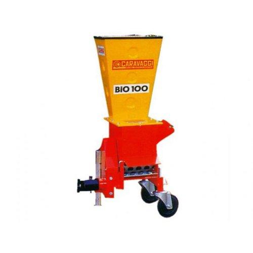 Caravaggi Bio 100 M - Triturador, toma de fuerza para motocultor, diámetro 8cm