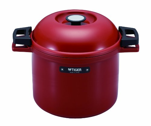 Why Choose TIGER NFH-G450 Non-Electric Thermal Slow Cooker 4.75qts / 4.5L, Red