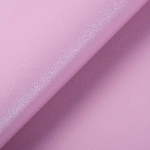 Fxhyy El 100x140cm Piel Sintética De Tela De Cuero Artificial Cuero PU con Patrón De Napa para Asiento De Coche Bolsa Blanda Reparación De Sofá Tapicería Mejoras para El Hog(Size:7 * 1.4m,Color:Rosa)