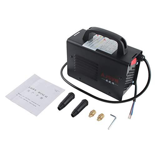 DGdolph 220V Ajustable de Mano Inversor IGBT Soldadora de Arco eléctrico Máquina de Soldadura Pantalla Digital Mini Herramienta de Soldadura portátil (Negro)