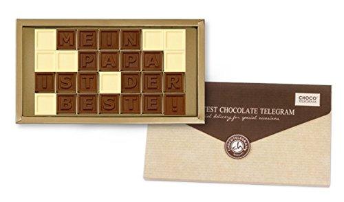 MEIN PAPA IST DER BESTE - Geschenkidee Vatertag   Geschenk   Vater   Geburtstag   Geschenkidee   Vater   Botschaft für Papa   Schokolade   Vatertagsgeschenk