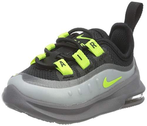 Nike Air MAX Axis TD, Zapatillas Unisex Niños, Negro/Volt/Gunsmoke, 34 EU