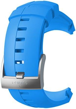 Suunto Original Ersatz Uhrenarmband Für Alle Suunto Sparten Sport Wrist Hr Uhren Silikon Länge 24 5 Cm Stegbreite 25 Mm Blau Schwarz Inkl Stifte Zur Montage Ss022932000 Sport Freizeit