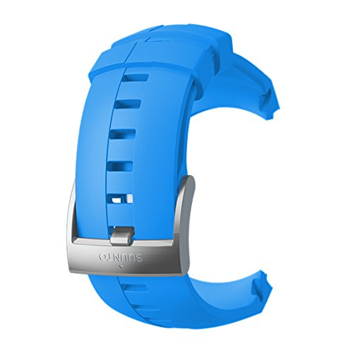 Suunto Spartan Sport Wrist HR Correa, Unisex Adulto, Azul, Silicona, Talla Única