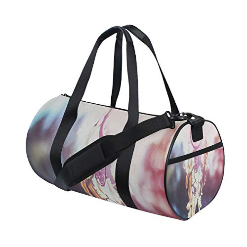 Foldable Duffle Bag Dream Catcher Best Lightweight Travel Sports Gym Bags Overnight for Women Men