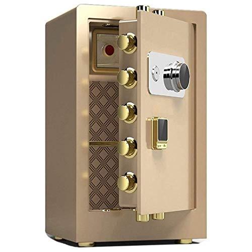 HFJKD Casseforti in Acciaio di Grandi Dimensioni, armadietto di Sicurezza Meccanico ignifugo per Uso Domestico, Cassetta portavalori per Hotel/aziende