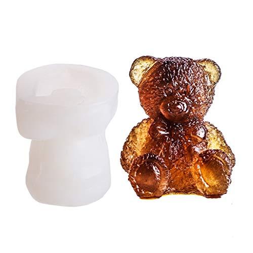 YWSZJ 3D Flexibler Silikon-Eiswürfel-Formtablett-Silikon-Form-Kaffee-Milch-Tee-Eiswürfel-Form