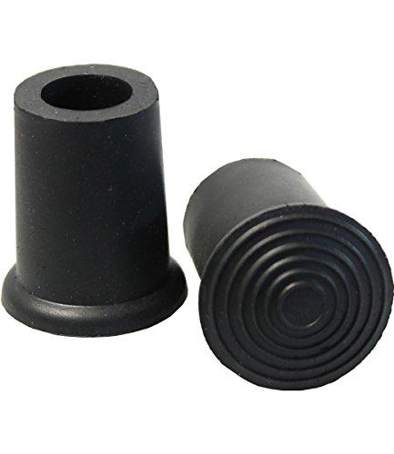 Gummipuffer für Schirme Gr. 4/ 0 10mm schwarz, Zubehör für Gehstöcke und Unterarmgehstützen