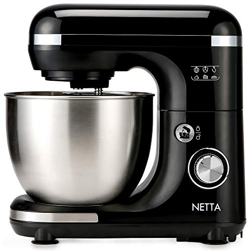 NETTA Stand Mixer 600W Tilt Head Food Mixer