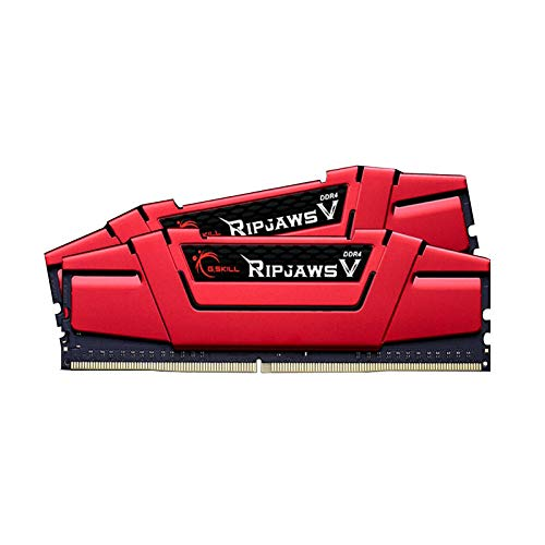 G.SKILL 32GB (2 x 16GB) Ripjaws V Series DDR4 PC4-28800 3600MHz Desktop Memory Model F4-3600C19D-32GVRB