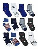 12 Pares Calcetines niño - calcetines niña - calcetines tobilleros niño...