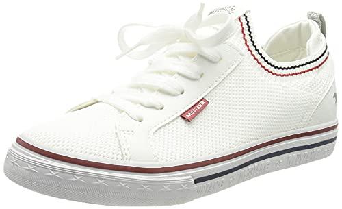 MUSTANG Damen 1354-315 Sneaker, Weiß, 40 EU