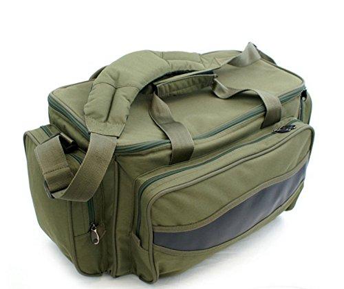 Carryall Karpfentasche Angeltasche groß mit Isoliertem Hauptfach