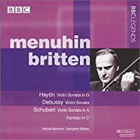 Haydn: Violin Sonata in G, Debussy: Violin Sonata