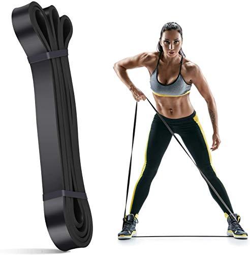 Switory Trainingsband Fitnessband Qualität Pull-Up Fitnessbänder Klimmzugbänder Schwarz Übungsbänder für Körper Stretching, Kraftdreikampf, Widerstandstraining