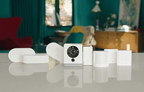 Neos SmartCam | Wi-Fi SmartHome Security Camera, Works with Alexa, 1080P HD Video, Night Vision, 2-Way Audio, Free Cloud Storage, UK Support, White, Single Pack