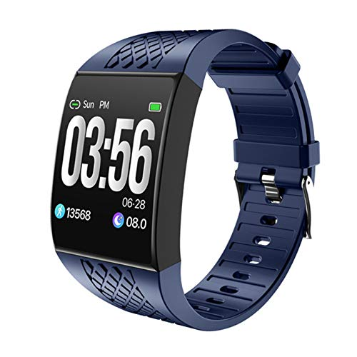 ZBY P16 Pantalla Grande Curvada Smart Pulsera Aptitud Pulsera Rastreador Remoto Cámara Música Banda Reloj Ergonómico Diseño Smartwatch,B