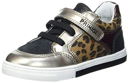 PRIMIGI Baby-Mädchen PGR 64062 First Walker Shoe, Nero/Naturale, 21 EU