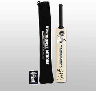 ICC Official Memorabilia Sachin Tendulkar Facsimile Mini Bat (Brown)
