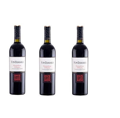 3 bottiglie di Vino Montefalco D'abruzzo 2018 D.O.C 3 x 0,75.