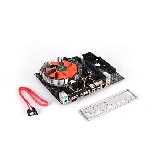 Price comparison product image Gugutogo G41 Desktop PC Main Board LGA775 Quad-core E5430 Combo Set 2.66G CPU + 4G Memory + Silent Fan Computer Modification Supplies