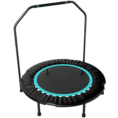 De trampoline met armleuningen 101 cm groot [draagvermogen 150 kg] [Verkrijgbaar in 3 kleuren] Opvouwbare opslag voor eenvoudige beweging en veilig / quiet ontwerp.