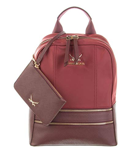 SANSIBAR-Damen Rucksack Backpack 23x31x13 055-BERRY