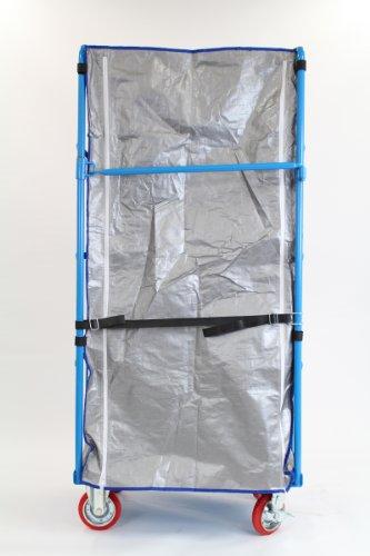 カゴ台車 カゴ車 オプション 保冷カバー W100×D80×H170(cm)台車用