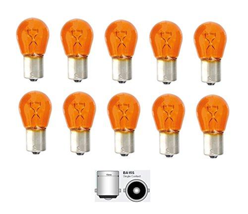 Kummert Business P21W BA15S Orange Amber Halogen-Signallampe, Blinklicht 12V PKW Gegenüberliegende Pins (10)