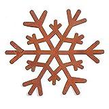 Darice, 3 Rusted Tin Snowflake Rustic Primitive Country Look Snowflakes