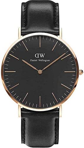 Daniel Wellington Men's Watch Classic Black Sheffield 40mm