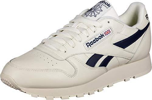 REEBOK CLASSIC CL LEATHER MU Sneakers hommes Wit/Zwart Lage sneakers