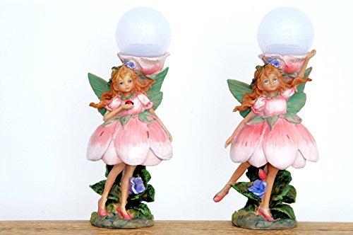 Sukima Decor NINFA Colorful LED AB 34.5CM, Resina, Pastel, 34,50cm