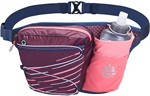 AONIJIE Hydration Belt Running Fanny Pack with Water Bottle Holder for Women Men Fit 6 8 Inches product image