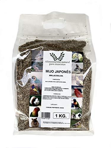 Semillas de Mijo japonés para pajaros 1 Kilo